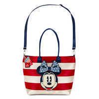 Image of Mickey and Minnie Mouse Americana Streamline Tote by Harveys # 3