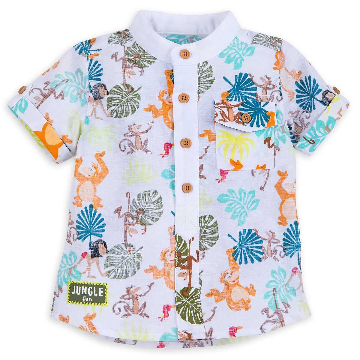 The Jungle Book Woven Shirt For Baby Shopdisney