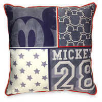 Image of Mickey Mouse Americana Decorative Pillow # 1