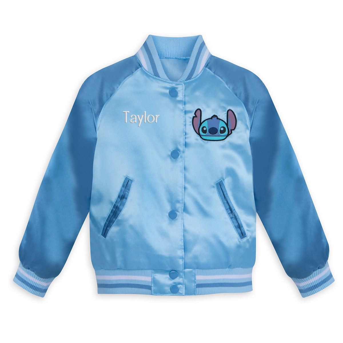 fe7584a1f Product Image of Stitch Varsity Jacket for Kids - Personalizable # 1