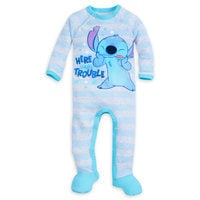 Stitch Footed Stretchie Sleeper for Baby