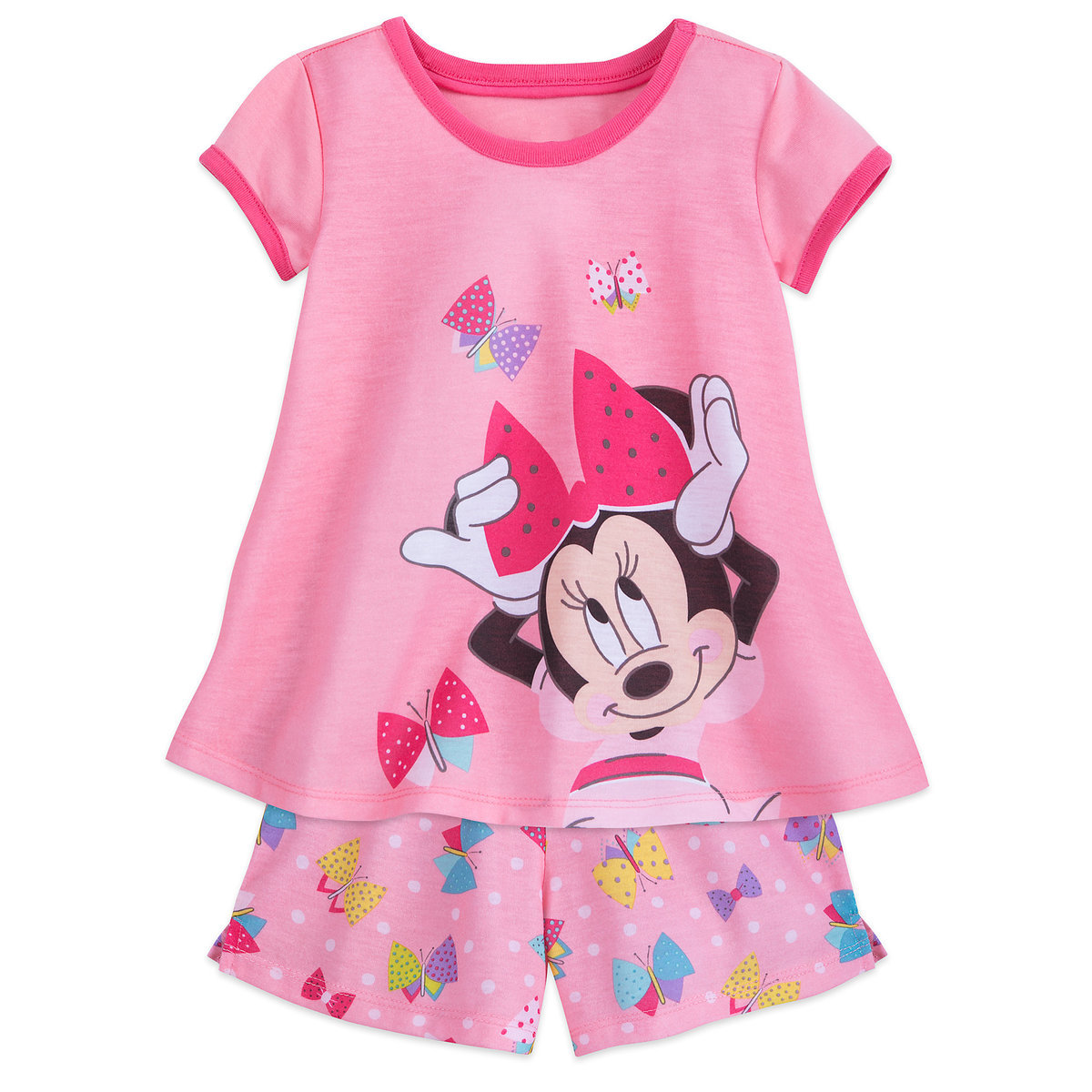 Product Image of Minnie Mouse Shorts Sleep Set for Girls # 1