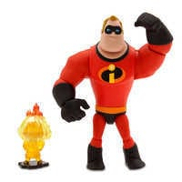 Image of Mr. Incredible and Jack-Jack Action Figure Set - PIXAR Toybox # 1