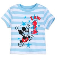 Image of Mickey Mouse Birthday Tee for Boys # 2