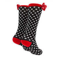 Image of Minnie Mouse Knee Socks for Women # 2