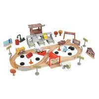Image of Cars 3 Thunder Hollow Track Set by KidKraft # 1