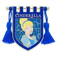Cinderella Banner Pin