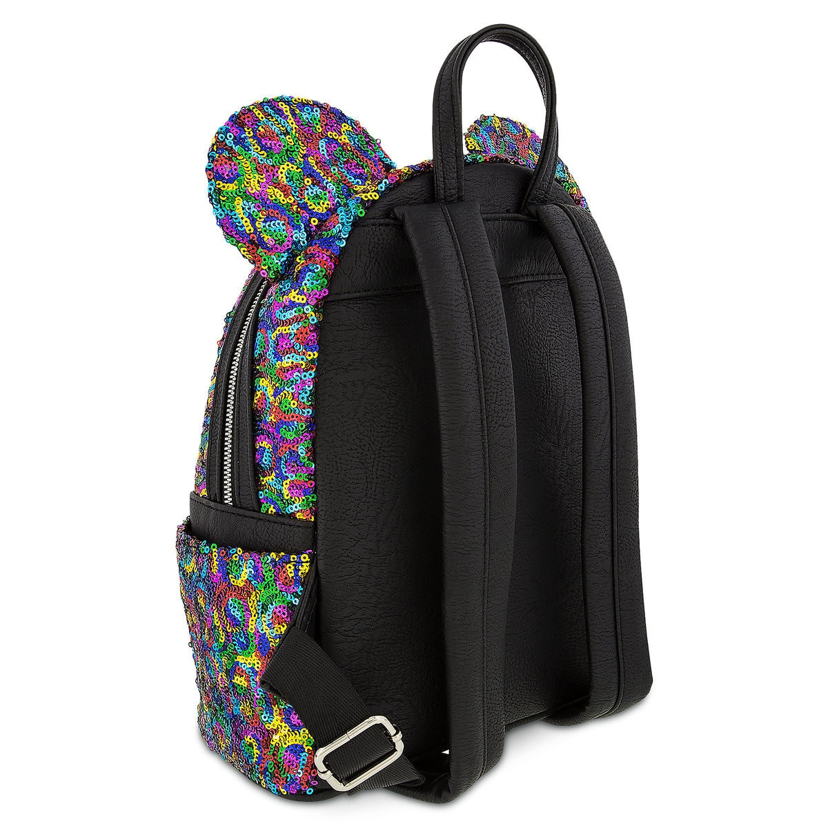 ef5fa210767 Mickey Mouse Rainbow Mini Backpack by Loungefly
