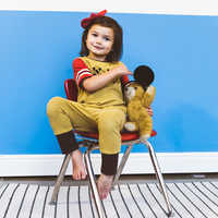 Image of Mickey Mouse Through the Years Romper for Baby and Kids by Rags # 3