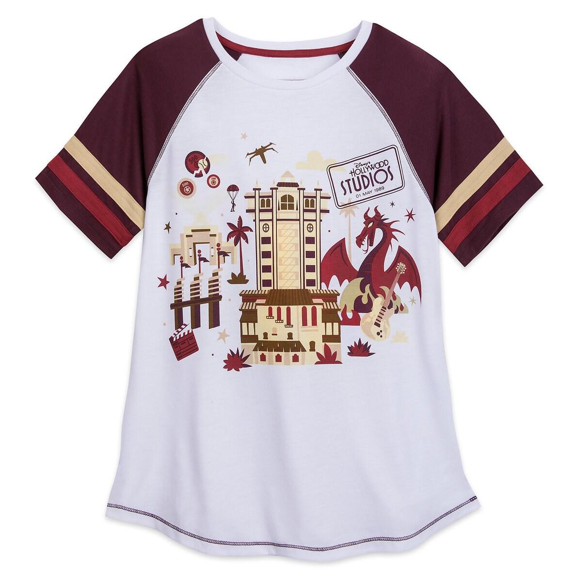 de27c5aeb546de Product Image of Disney s Hollywood Studios Raglan T-Shirt for Women   1