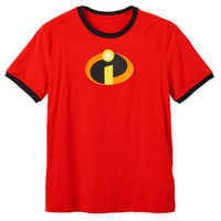 Image of Incredibles Logo Ringer T-Shirt for Adults # 1