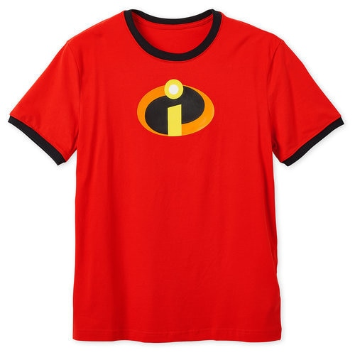 Incredibles Logo Ringer T-Shirt for Adults