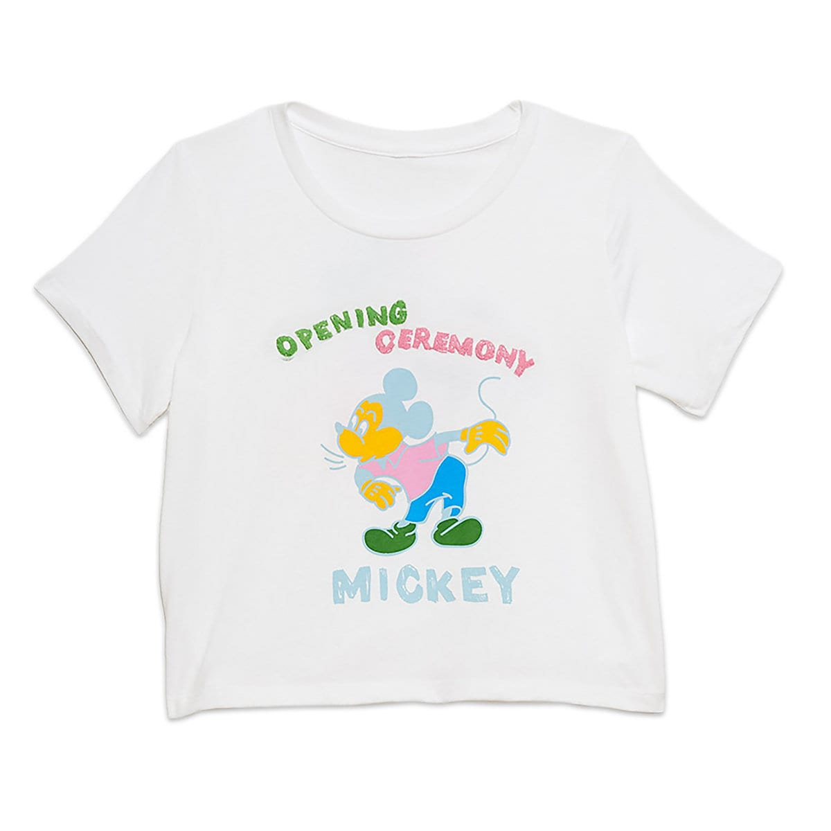 2f739749c14 Product Image of Mickey Mouse Cropped T-Shirt for Women by Opening Ceremony  # 1