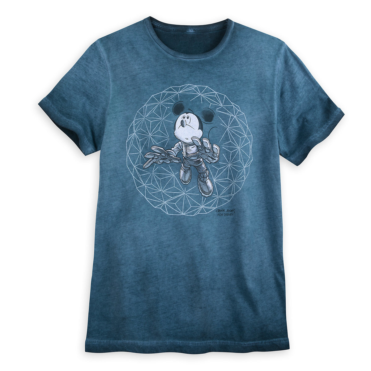 62c71d55 Product Image of Mickey Mouse Disney Parks Artist Series T-Shirt for Men by  Casey