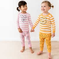 Image of Piglet Organic Long John Pajama Set for Baby by Hanna Andersson # 2