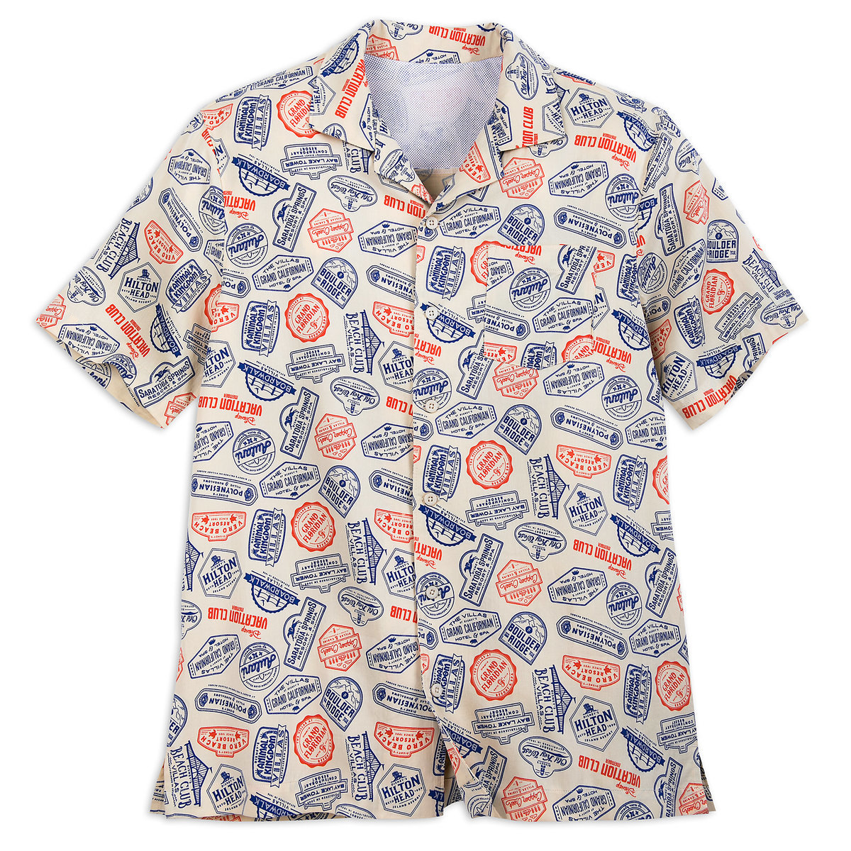 a9a96919a Product Image of Disney Vacation Club Camp Shirt for Men # 1