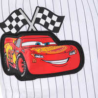 Image of Lightning McQueen Mechanic Shirt for Boys # 3