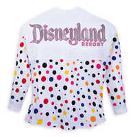 Image of Minnie Mouse Polka Dot Spirit Jersey for Adults - Disneyland # 2
