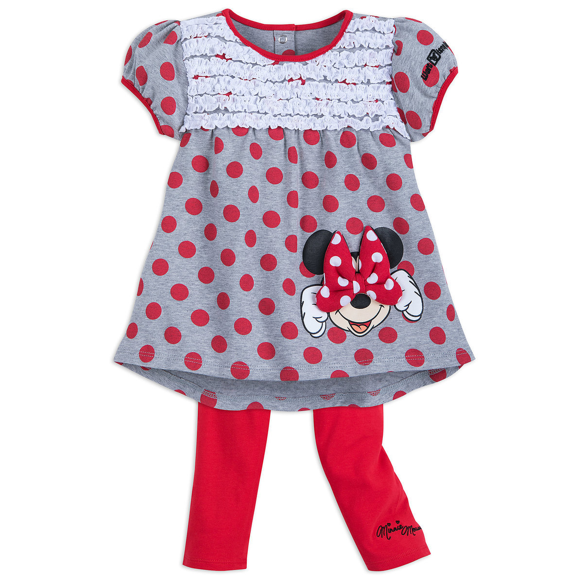 4e2bbdbe5 Product Image of Minnie Mouse Red Dot Top and Leggings Set for Girls - Walt  Disney