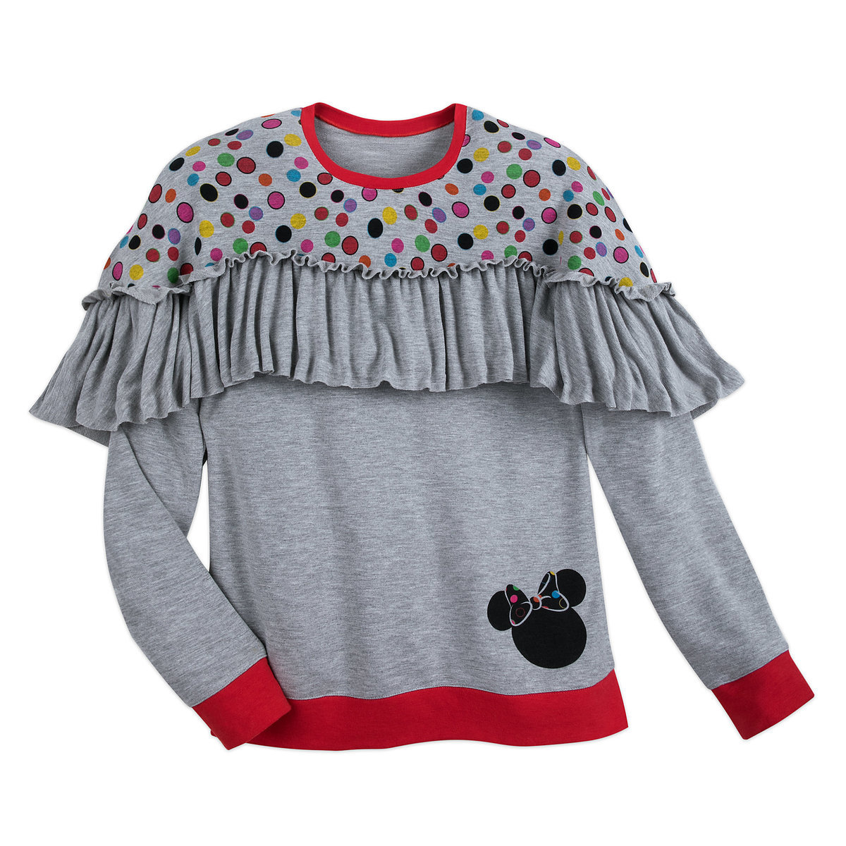 f0d715227 Product Image of Minnie Mouse Ruffled Top for Women by Disney Boutique # 1