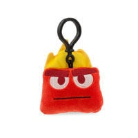 Image of Anger Emoji Plush Backpack Clip - Inside Out # 2