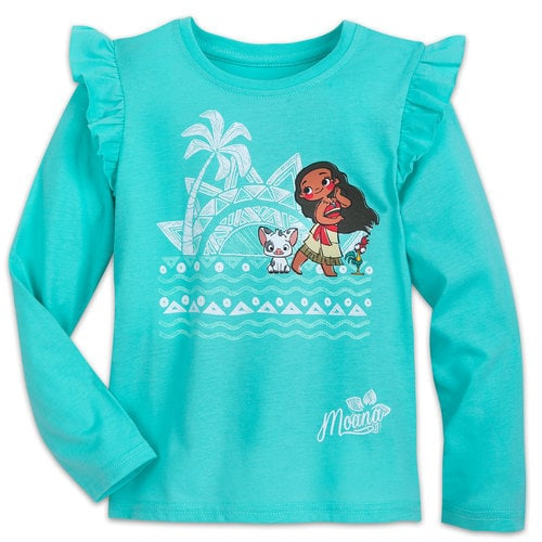 Moana Long-Sleeve T-Shirt for Girls