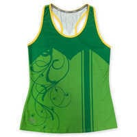 Image of I Am Tinker Bell runDisney Performance Tank Top for Women # 1