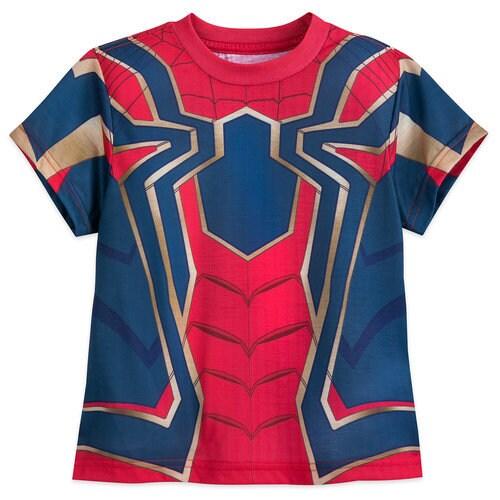 Iron Spider Costume T Shirt For Boys Marvel S Avengers