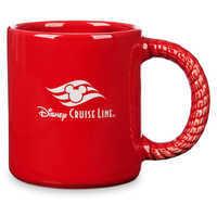Image of Disney Cruise Line Anchor Mug - Red # 2