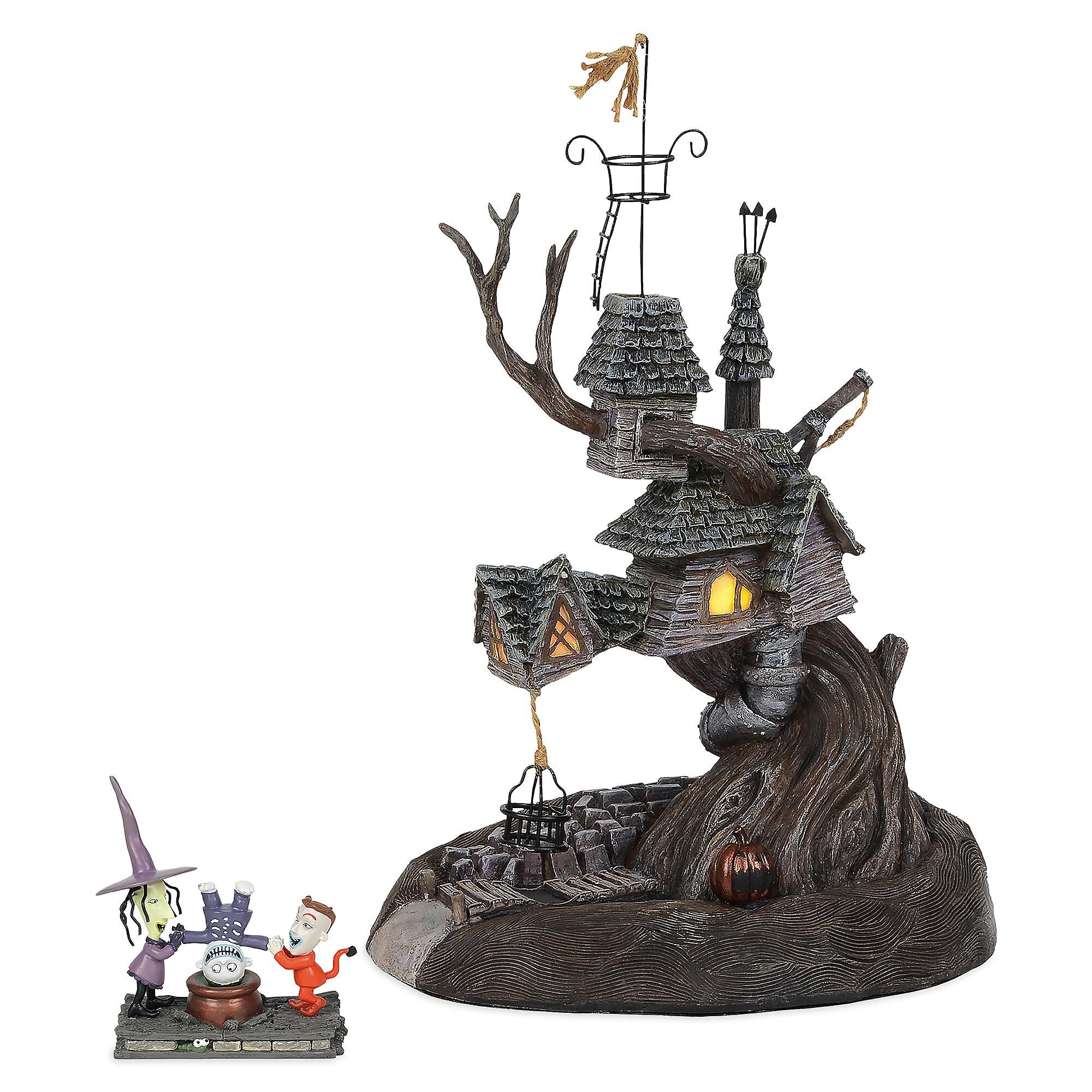 Lock, Shock & Barrel Treehouse Figurine by Dept. 56 - Nightmare Before Christmas