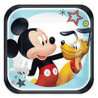 Image of Mickey Mouse On the Go Dessert Plates # 1