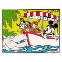 Image of Mickey Mouse and Goofy Jungle Cruise Pin # 1