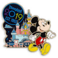 Image of Mickey Mouse Disneyland Resort Pin - 2019 # 1