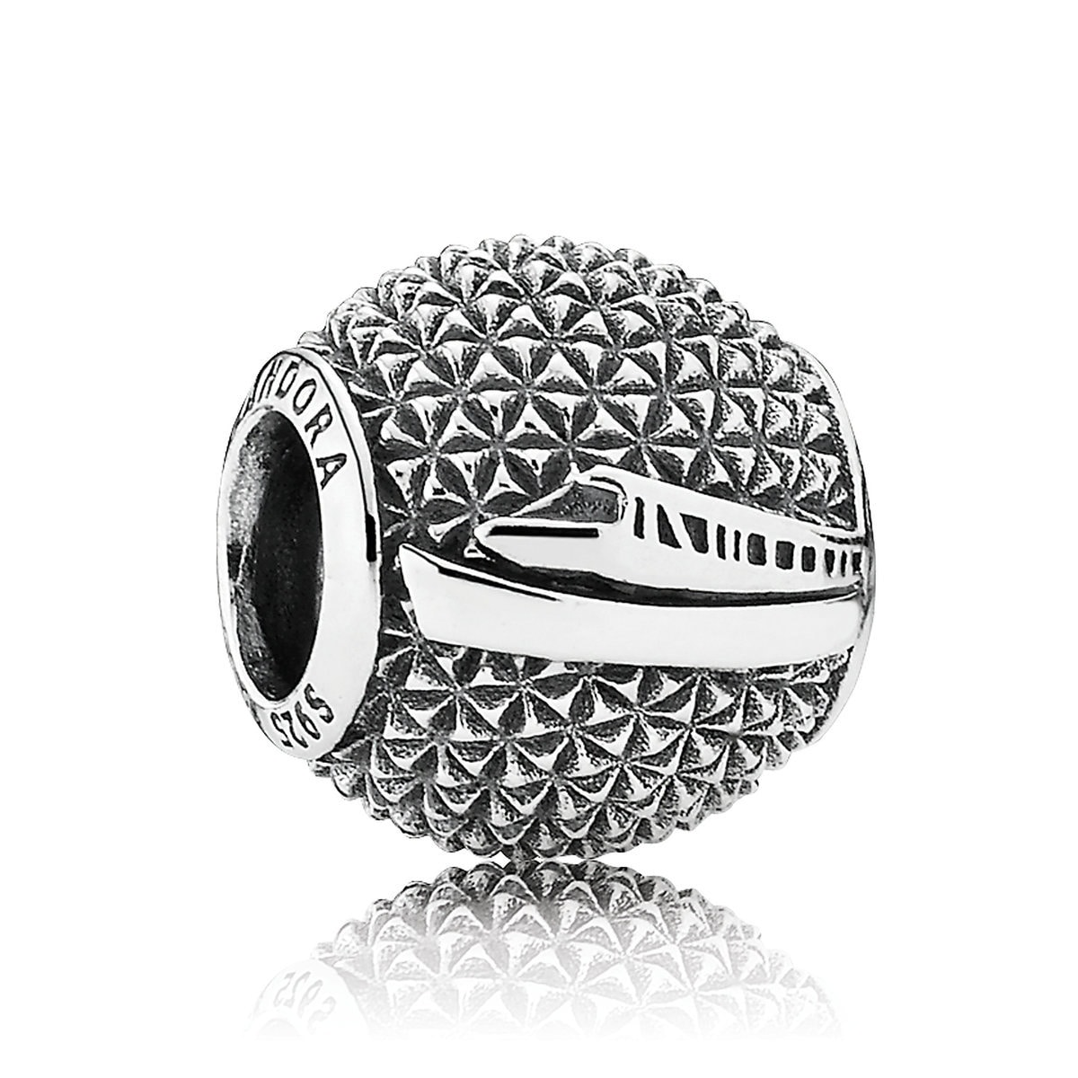 cdd9bc3fda3f17 Product Image of Epcot ''Spaceship Earth'' Charm by Pandora ...
