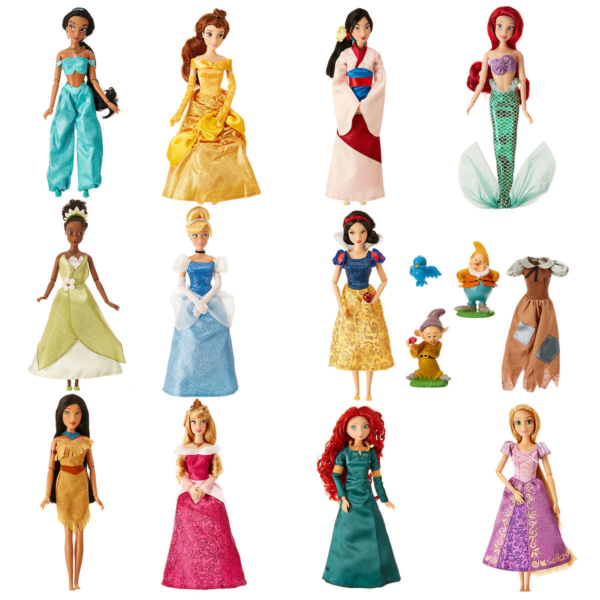 disney princess classic doll collection gift set | shopdisney