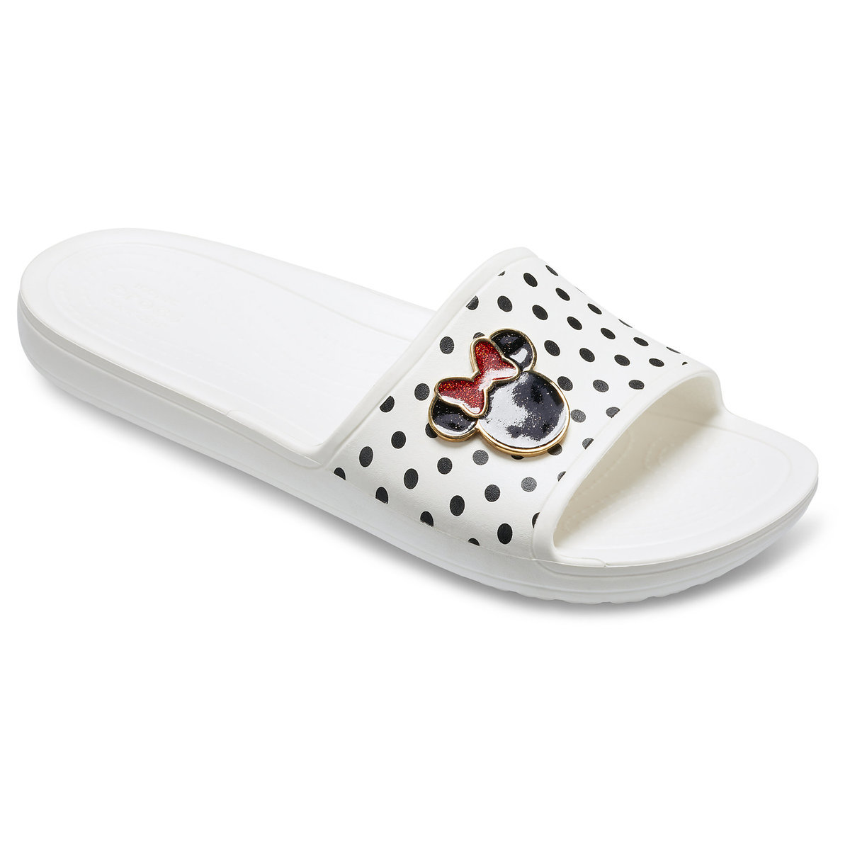 62650fab9c4b Product Image of Minnie Mouse Slide Sandals for Women by Crocs   1