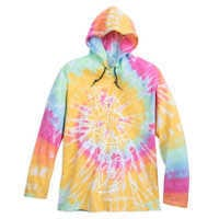Image of Minnie Mouse Long Sleeve Hooded Tie-Dye T-Shirt for Adults - Walt Disney World # 1