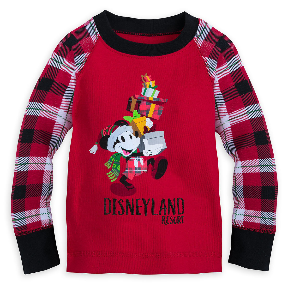 36946dd02 Santa Mickey Mouse Holiday Pajama Set for Baby - Disneyland