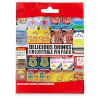Image of Disney Parks Delicious Drinks Mystery Pin Set # 2