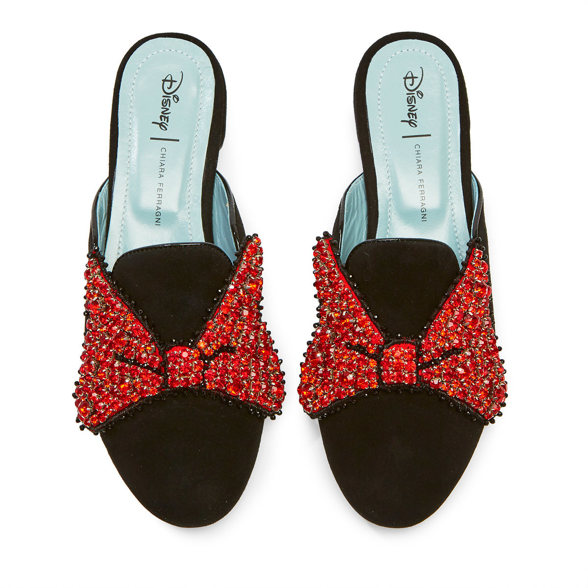 626d601b40b Product Image of Minnie Mouse Bow Mules for Women by Chiara Ferragni -  Black   1