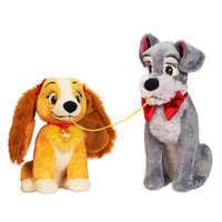 Image of Lady and the Tramp Plush Set - Valentine's Day - Small # 1