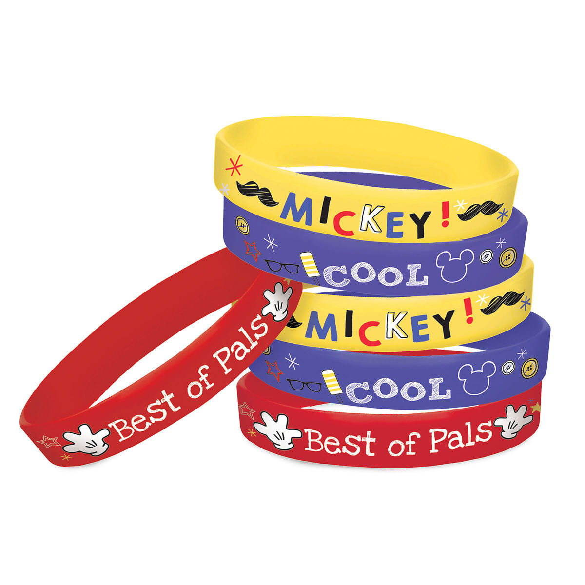 Product Image Of Mickey Mouse On The Go Wristbands 1