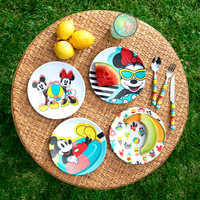 Image of Mickey and Minnie Mouse Plate Set - Disney Eats # 2