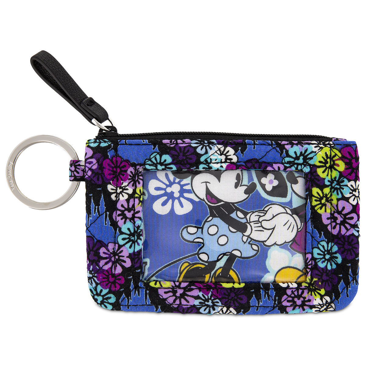 Vera Bradley Mickey and Minnie Paisley ID Case
