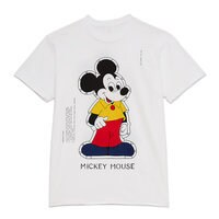 Image of Mickey Mouse Paper Doll T-Shirt for Adults by Opening Ceremony # 1