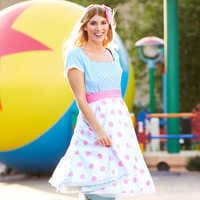 Image of Bo Peep Jumpsuit and Convertible Skirt for Women - Toy Story 4 # 2