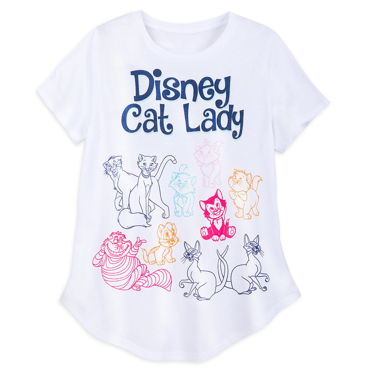 a5446972 Product Image of Disney Cats Fashion T-Shirt for Women # 1