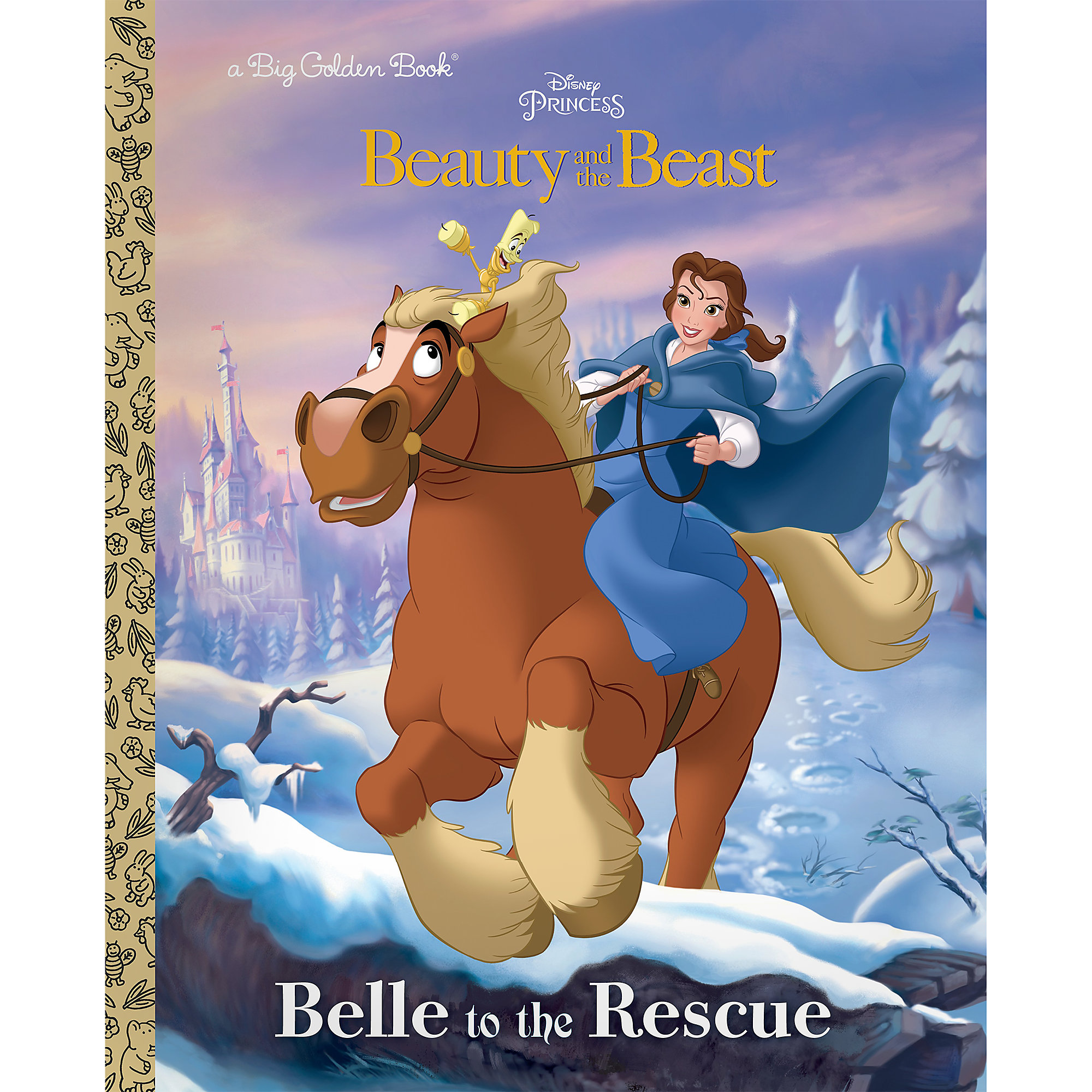 Beauty and the Beast: Belle to the Rescue - Big Golden Book