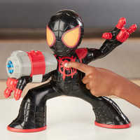Image of Spider-Man Miles Morales Electronic Action Figure # 3