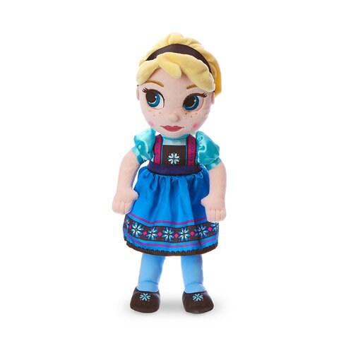 Disney Animators' Collection Elsa Plush Doll - Frozen - Small